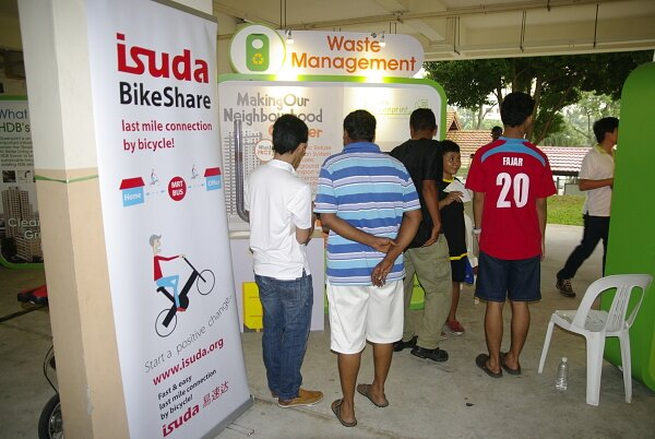 Isuda in HDB Greenprint road show